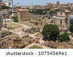rome  italy   june 24  2017 ...   Shutterstock . vector #1075456961