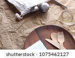 zero waste packed lunch eating...   Shutterstock . vector #1075462127