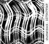 grunge pattern. abstract design.... | Shutterstock .eps vector #1075479569