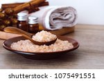 close up brown organic...   Shutterstock . vector #1075491551
