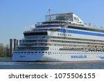 velsen  the netherlands  april... | Shutterstock . vector #1075506155