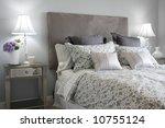 beautiful master bedroom in... | Shutterstock . vector #10755124