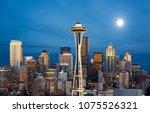 seattle  washington    usa   08 ... | Shutterstock . vector #1075526321