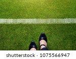 start concept  top view of... | Shutterstock . vector #1075566947