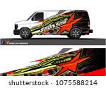 car graphic vector. abstract... | Shutterstock .eps vector #1075588214