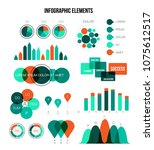 eco nature green infographic... | Shutterstock .eps vector #1075612517