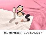 fashionable women's cosmetics... | Shutterstock . vector #1075643117