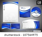 professional corporate identity ... | Shutterstock .eps vector #107564975