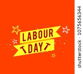 illustration of labour day... | Shutterstock .eps vector #1075656344