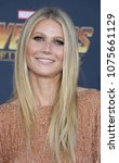 gwyneth paltrow at the premiere ... | Shutterstock . vector #1075661129