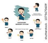 vector illustration of human... | Shutterstock .eps vector #1075670609
