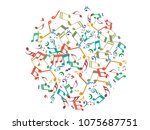 abstract background for... | Shutterstock .eps vector #1075687751