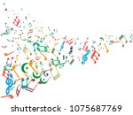 abstract background for... | Shutterstock .eps vector #1075687769