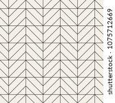 vector seamless pattern. modern ... | Shutterstock .eps vector #1075712669