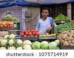 mandawa  india   february 24 ...   Shutterstock . vector #1075714919