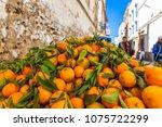 morocco essaouira 20.10.2018  ... | Shutterstock . vector #1075722299