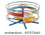 playground merry go round. | Shutterstock . vector #107572661