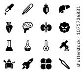 solid vector icon set   pipette ... | Shutterstock .eps vector #1075736831