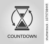 countdown icon. countdown...