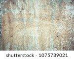materials grungy wall   great...   Shutterstock . vector #1075739021