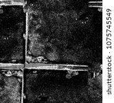 dark grunge background. grey... | Shutterstock . vector #1075745549