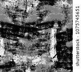 dark grunge background. grey... | Shutterstock . vector #1075745651