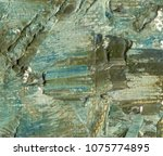 green color rough background.... | Shutterstock . vector #1075774895