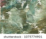 green color rough background.... | Shutterstock . vector #1075774901