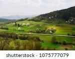landscape in the spring | Shutterstock . vector #1075777079