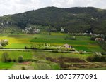 landscape in the spring | Shutterstock . vector #1075777091
