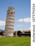 european travel destination  ... | Shutterstock . vector #1075791014