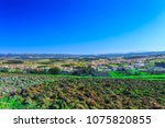 a typical agricultural... | Shutterstock . vector #1075820855
