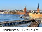 sweden  stockholm   march 27 ... | Shutterstock . vector #1075823129
