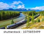 alberta  canada   october 1...   Shutterstock . vector #1075855499