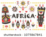 hand drawn poster with the... | Shutterstock .eps vector #1075867841