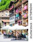 pasai donibane  spain   29 july ...   Shutterstock . vector #1075896044