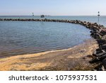 the three shells lagoon in... | Shutterstock . vector #1075937531
