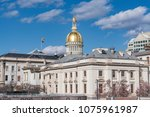 new jersey state capitol...   Shutterstock . vector #1075961987