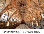 munich  germany   circa january ...   Shutterstock . vector #1076015009