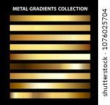 trendy ui gold metal gradients...