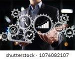 big data analytics. bi business ... | Shutterstock . vector #1076082107