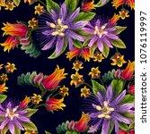 vector design of seamless...   Shutterstock .eps vector #1076119997