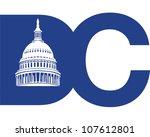 washington dc | Shutterstock .eps vector #107612801