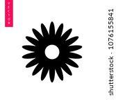 flower vector icon  logo