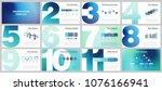 business presentation templates.... | Shutterstock .eps vector #1076166941