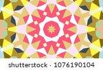 geometric design  mosaic of a...   Shutterstock .eps vector #1076190104