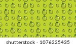 repeating seamless pattern of... | Shutterstock .eps vector #1076225435