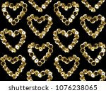 sequins seamless pattern.... | Shutterstock .eps vector #1076238065