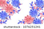 abstract festive background... | Shutterstock .eps vector #1076251241