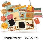 vintage design elements  19  | Shutterstock .eps vector #107627621